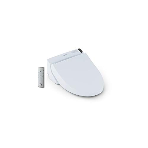 TOTO SW2044#01 C200 WASHLET Electronic Bidet Toilet Seat with PREMIST and SoftClose Lid, Elongated, Cotton White