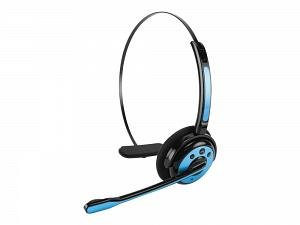 LG G Flex Blue Bluetooth Professional Hands Free Headset Built In Boom Microphone And Crystal Clear Voice Quality