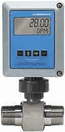 "Flow Monitor, Remote Sensor, 40/400 GPM 2"" x 2"" Female NPT with Standard Magnetic Pick-Up"