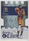 Paul George #/199 (Basketball Card) 2016-17 Panini Excalibur - Storm the Castle - Blue #13 ()