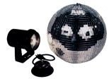 American Dj M-500L 12 Inch Mirror Ball Package