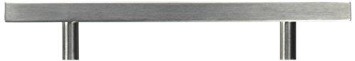 Pandora–cuadrado Tire mango de barra de acero inoxidable para de cajón clóset de cocina Hardware–8inch