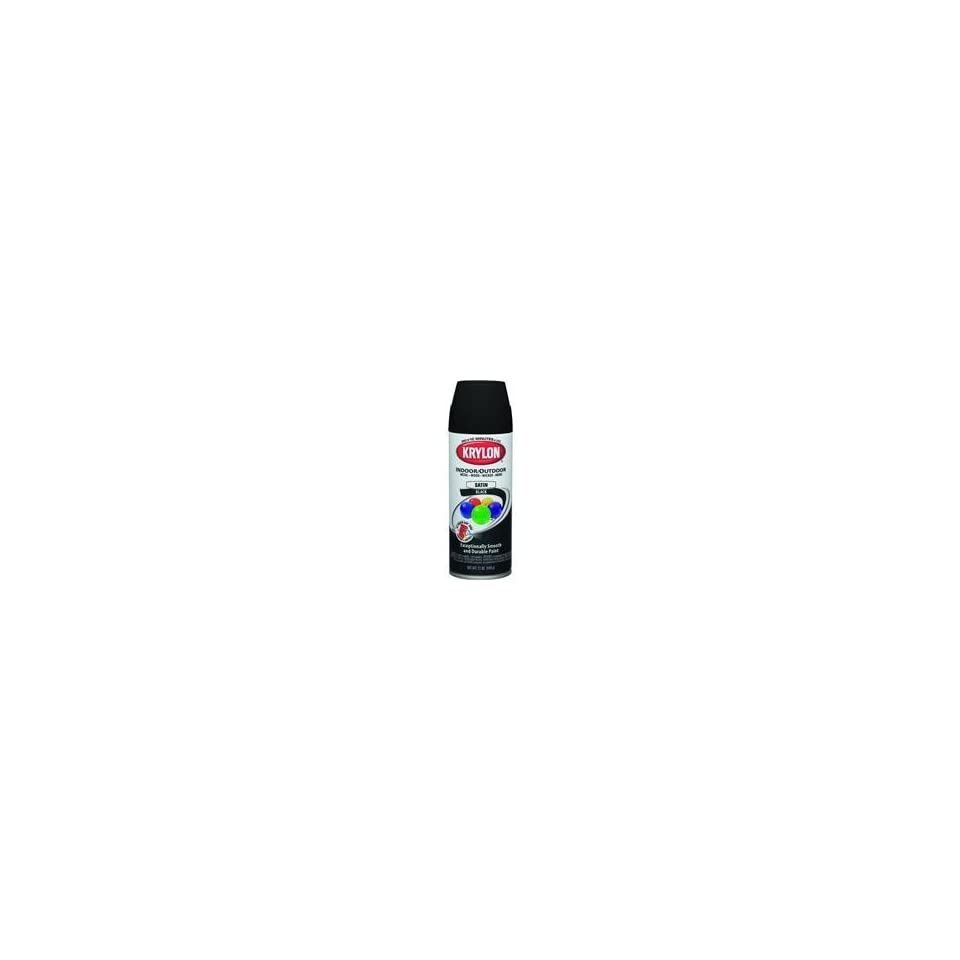 Krylon Interior/Exterior Spray Paint (12 oz.)   Glossy Black/OSHA