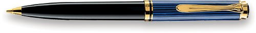 PELIKAN Souveran 600 Gt 7mm Pencil, Black/Blue (997221) by Pelikan