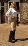 Rhinegold, Stivali da equitazione uomo UK 3 Euro 36 Xwide (W38cm - L42cm)