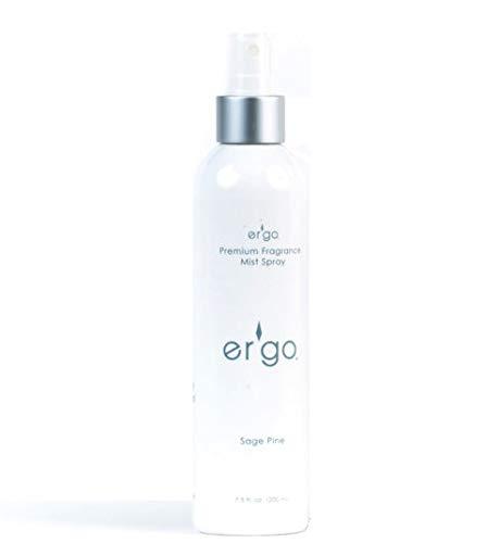 Er'go Premium 7oz Er'go Premium 7oz Air Freshener, Mist Spray Base (Quantity 1) (7oz Sage Pine) Fine Mist Spray, Air Freshener, Travel Spray, Room Sprays (Quantity 1) (7oz Sage Pine) by ERGO
