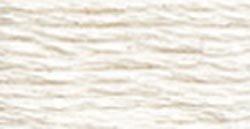 DMC 115 5-BLANC Pearl Cotton Thread, White, Size - Cotton Pearl Dmc Thread Embroidery
