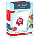 2 X Miele 10123220 AirClean 3D Efficiency Dust Bag, Type FJM, 4...