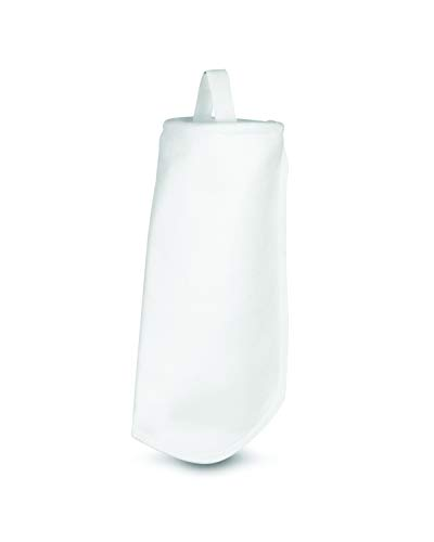 White PE-100-P4S Polyester Felt filter Bag 4 x 12 Rosedale Products Inc Pack of 50
