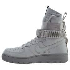 Nike Womens SF Air Force 1 Boots Vast Grey/Atmosphere Grey 857872-003 Size 10.5