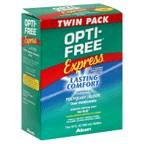 Opti Solution gratuite de désinfection, Multi-Purpose, confort durable Formula, Twin Pack 600 ml (pack de 3)