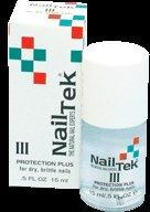 NailTek Protection Plus III Nail Treatment Strengthener 0.5oz by Nail Tek