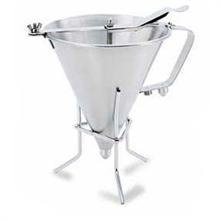 World Cuisine Stainless Steel Funnel Stand -- 4 per case