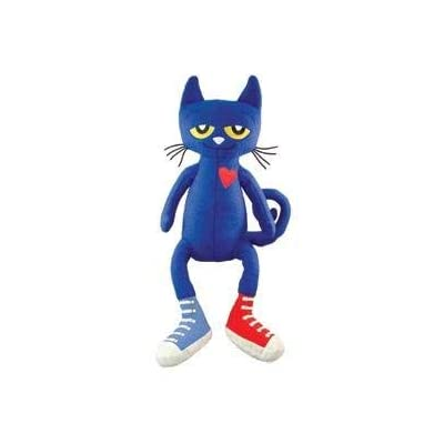MerryMakers 10.5-inch Pete The Cat Doll: Toys & Games