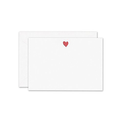 William Arthur Letterpress Sweet Heart Card (B60744), Pack of 10
