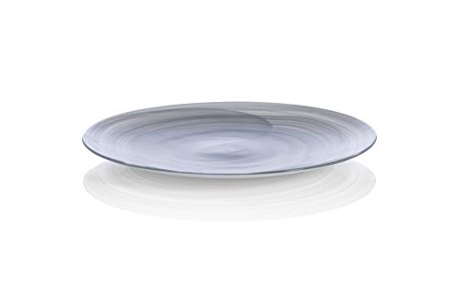 Shiraleah Home Medium Polished Alabaster Plate, Stone,