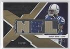 Joseph Addai Nfl Jersey - Joseph Addai #90/99 (Football Card) 2008 SPx Winning Materials Single Jersey NFL Letters #WM-JA