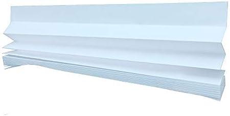 6 persianas con caja, para uso temporal, color blanco: Amazon.es: Hogar