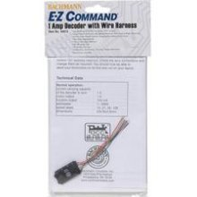 Command Decoder Ez Bachmann (Bachmann Trains E-Z Command Digital Command Control Decoder with Wire Harness (Programming on the Main, Lights, Dimming) 1/card)