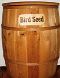 Bird Seed Container - Large