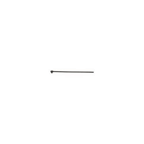Wright Tool #6425 Long Black Knurled Steel Handle Ratchet