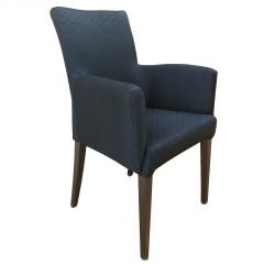 SALA DA PRANZO Sedia con braccioli Dining Chair Oxford Black Sedia ...