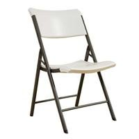 081483002576 - Lifetime 80074 Commercial Contemporary Folding Chair, 20L x 18W x 34H, 500lbs Capacity, 34-Pack, Almond carousel main 0