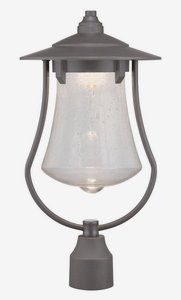Designers Fountain LED22536-ABP Paxton 10 Inch Led Post Lantern by Designers Fountain
