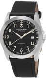 Victorinox Mens  241586 Swiss Army Infantry Mechanical Black Leather