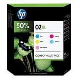 HP 02XL Ink Cartridge - Inkjet - Combo Value Pack - Cyan/Magenta/Yellow/Light Cyan/Light Magenta