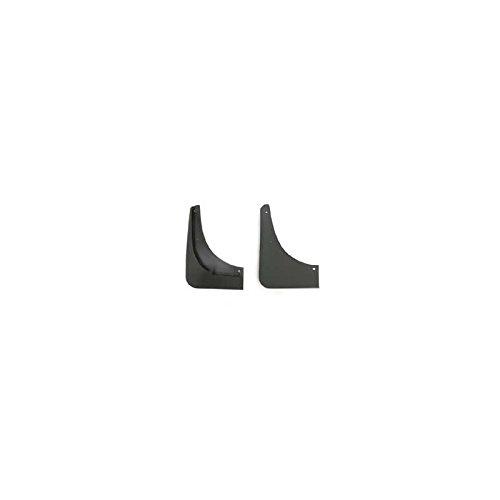 - Eckler's Premier Quality Products 25163210 Corvette Splash Guards Body Contoured Rear Matte Black Altec