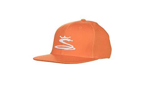 Cobra Golf 2019 Tour Snake Snapback Hat (Vibrant Orange) ()