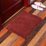 (Emollient Absorbent Soft Mat Carpets Mats & Rugs - Kc-334 40x60cm Chenille Rough Hair Soft Mat Machine Washable Bathroom Anti Slip Absorbent Carpet Doormat - Woolly Compressible)