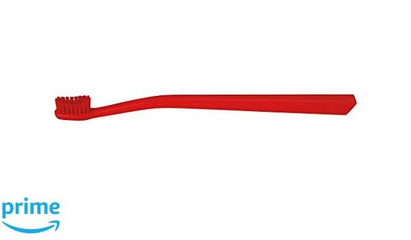 Swiss Dent profesional Colours Cepillo de dientes suave de medio, color rojo: Amazon.es: Salud y cuidado personal