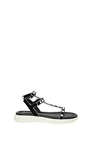 GARAVANI Black Women Sandals Fabric VALENTINO UK 2S0F77YYN Uqdzcn
