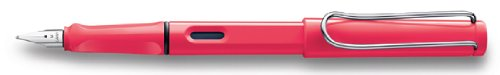 Lamy Safari 2014 Special Edition - Neon Coral Extra Fine Point Fountain Pen - L41-EF by Lamy
