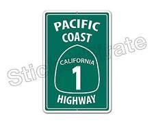 TinSIGNS Aluminum Sign Pacific Coast Highway California for sale  Delivered anywhere in USA