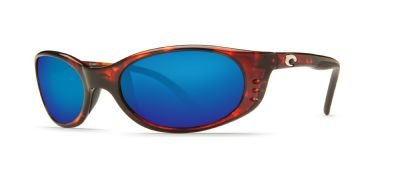 Costa Del Mar Sunglasses - Stringer- Glass / Frame: Shiny Tortoise Lens: Polarized Blue Mirror Wave 580 Glass by Costa Del Mar