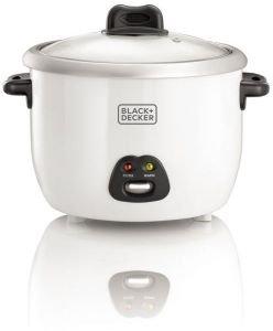 Black+Decker Rice Cooker – RC1850-B5-SP, 1.8 litre