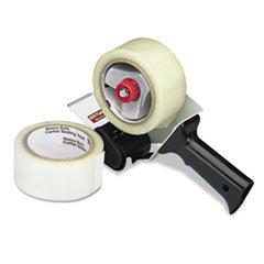 (6 Pack Value Bundle) UNV91002 Carton Sealing Tape w/Pistol Grip Dispenser, 2