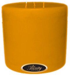 Trinity Candle工場 – ジャスミン – Pillar Candle – 6 x 6 B0030BACGS