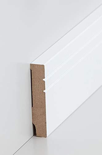 Plinthe 'Coesfeld' (MDF plaxé / 721.1580) - blanc