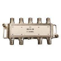8ウェイ同軸ケーブルスプリッタf-type 5 – 1000 MHz ( for Satelliteまたはケーブルテレビ) – 分散by NACワイヤとケーブル B01N5BW4JK