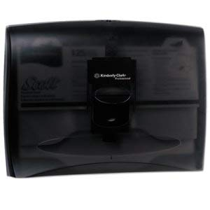 In-Sight Toilet Seat Cover Dispenser, Smoke Gray (2 Units)