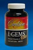 Carlson Labs - E•Gems® Elite 400 IU 120 gels by Carlson