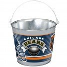 CHICAGO BEARS GALVANIZED PAIL 5 QUART