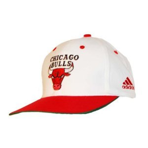 950267ef042 Image Unavailable. Image not available for. Color  Adidas Chicago Bulls  Snapback Hat Cap - White ...