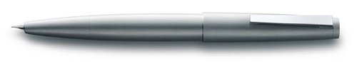 Fountain Pen Brushed Stainless Steel (LAMY 2000 Brushed Stainless Steel Fountain Pen Medium Nib (L02MM))