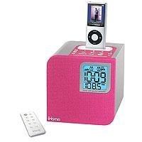 iHome IH12PR Clock Radio for iPod