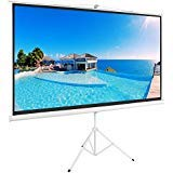 """Best Portable Projection Screens - ShowMaven 100"""" 16:9 HD Adjustable Tripod Projector Projection Review"""